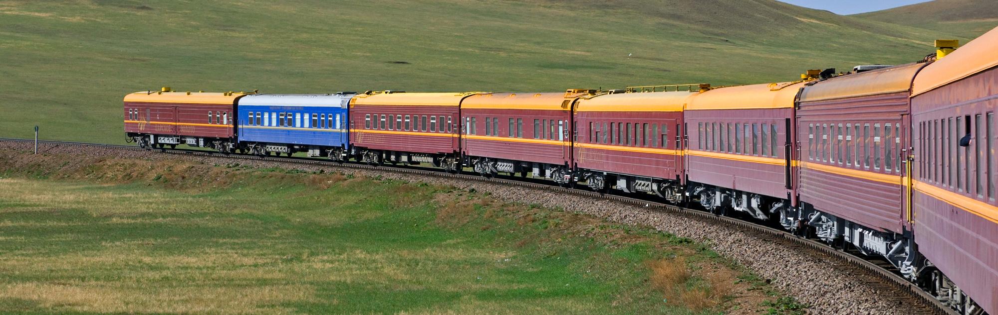 trannies on a train