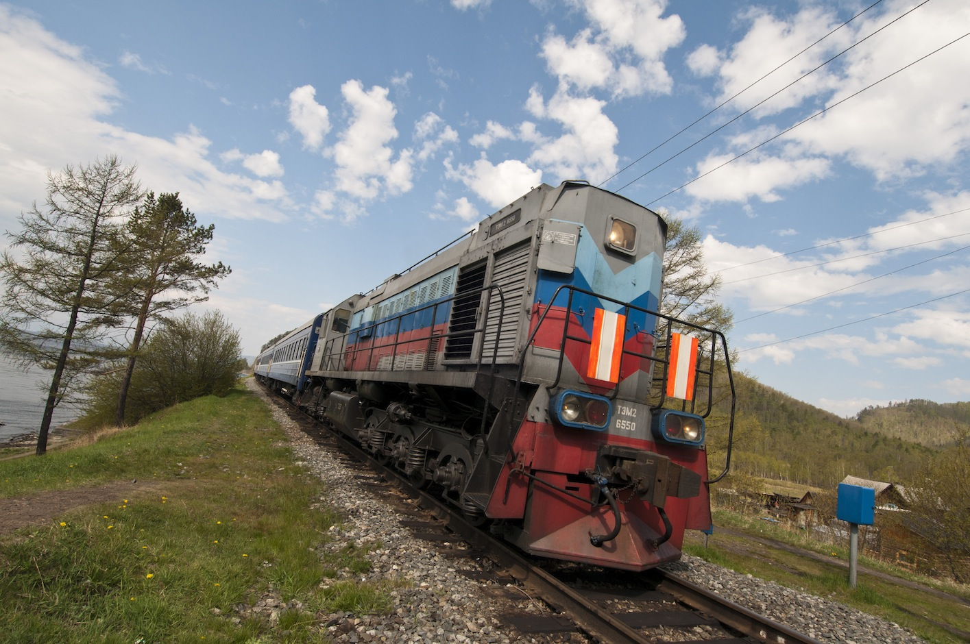 How to get by train to Moscow 11