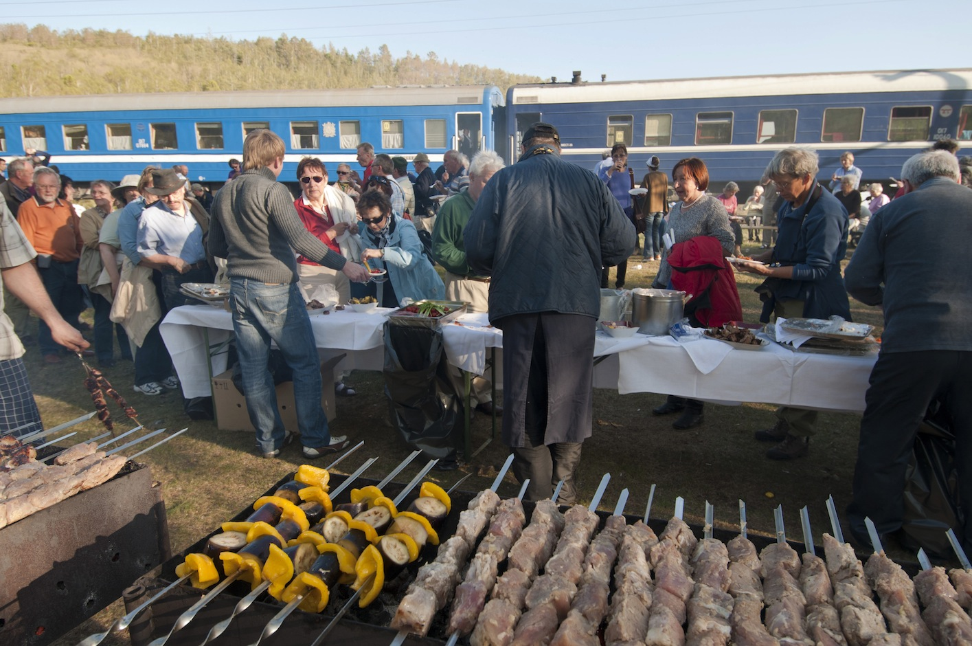 Picknick at Lake Baikal