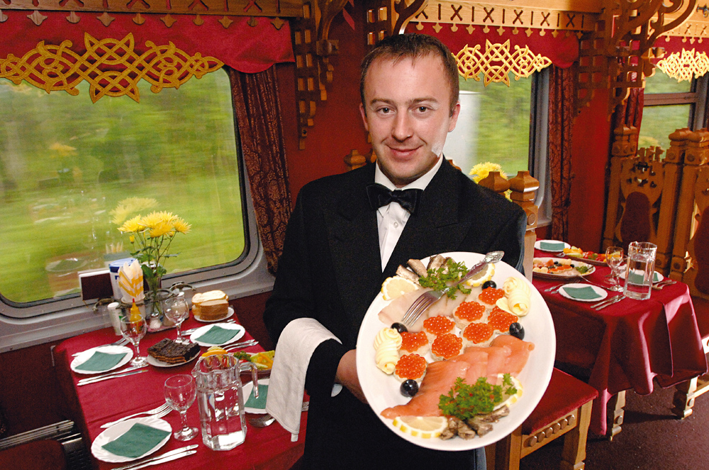 Caviar - On Board the Private Train