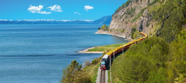 The Private Train at Lake Baikal